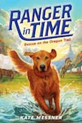 Children's middle school book about a time traveling search and rescue dog